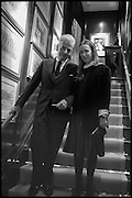 NICKY HASLAM; FRANCES ARMSTRONG-JONES, Ralph Lauren host launch party for Nicky Haslam's book ' A Designer's Life' published by Jacqui Small. Ralph Lauren, 1 Bond St. London. 19 November 2014