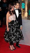 Feb 8, 2015 - EE British Academy Film Awards 2015 - Red Carpet Arrivals at Royal Opera House<br /> <br /> Pictured: Keira Knightley and James Righton<br /> ©Exclusivepix Media