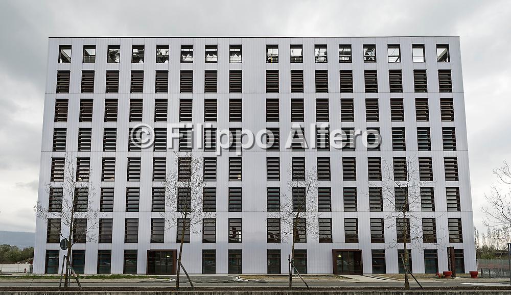 &copy; Filippo Alfero<br /> Architetto Antonio Besso-Marcheis, Nuovo Poliambulatorio di Ivrea<br /> Ivrea (TO), 30/03/2016