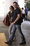02.JUNE.2011. LOS ANGELES<br /> <br /> **EXCLUSIVE PICTURES** <br /> <br /> MICHAEL HAZAVANICIUS AND BERENICE BEJO ARRIVE AT THE LAX AIRPORT IN LOS ANGELES, CALIFORNIA<br /> <br /> BYLINE: EDBIMAGEARCHIVE.COM<br /> <br /> *THIS IMAGE IS STRICTLY FOR UK NEWSPAPERS AND MAGAZINES ONLY*<br /> *FOR WORLD WIDE SALES AND WEB USE PLEASE CONTACT EDBIMAGEARCHIVE - 0208 954 5968*