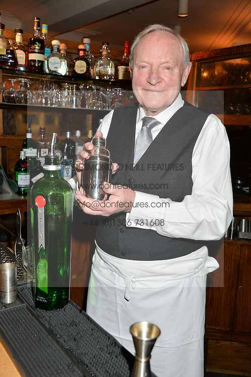 JULIAN GLOVER at One Night Only at The Ivy in aid of Acting For Others supported by Tanqueray No.TEN Gin at The Ivy, 1-5 West Street, London on 1st December 2013.