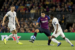October 24, 2018 - Barcelona, Catalonia, Spain - Luis Suarez during the UEFA Champion Leage match between FC Barcelona and Internazionale Milano at Camp Nou Stadium in Barcelona, Catalonia, Spain on October 24, 2018  (Credit Image: © Miquel Llop/NurPhoto via ZUMA Press)