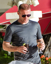 EXCLUSIVE: Coleen Rooney and family are spotted on the beach in Barbados. 26 May 2017 Pictured: Coleen & Wayne Rooney. Photo credit: Shakeira Farnum-Islandpaps.com/MEGA TheMegaAgency.com +1 888 505 6342