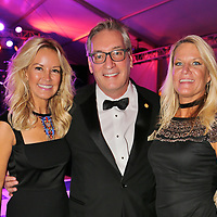 Michelle Trulaske, Patron Co-chair, Mike Campbell, Michelle Schell