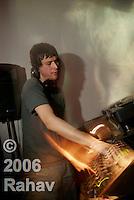 Dj Anglo at Hiro on May 10, 2006.