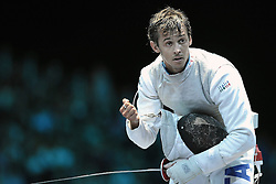 05.08.2012, ExCeL Exhibition Centre, London, GBR, Olympia 2012, Fechten, im Bild BALDINI Andrea (ITA), Mens Team Foil // during fencing, at the 2012 Summer Olympics at ExCeL Exhibition Centre, London, United Kingdom on 2012/08/05. EXPA Pictures © 2012, PhotoCredit: EXPA/ Insidefoto/ Giovanni Minozzi *****ATTENTION - for AUT, SLO, CRO, SRB, SUI and SWE only *****