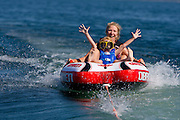 Boating on the bay of Green Bay in Door County, Wisconsin © Mike Roemer / Mike Roemer Photography Inc.  920-347-9323.
