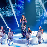 NLD/Hilversum/20170120 - 2de liveshow The Voice of Holland 2017, Kirsten Berkx