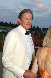 JOHN ANSTRUTHER-GOUGH-CALTHORPE at the Cowdray Gold Cup Golden Jubilee Ball held at Cowdray Park Polo Club, on 21st July 2006.<br />