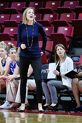 NORMAL, IL - January 06: Jennie Baranczyk during a college women's basketball game between the ISU Redbirds and the Drake Bulldogs on January 06 2019 at Redbird Arena in Normal, IL. (Photo by Alan Look)