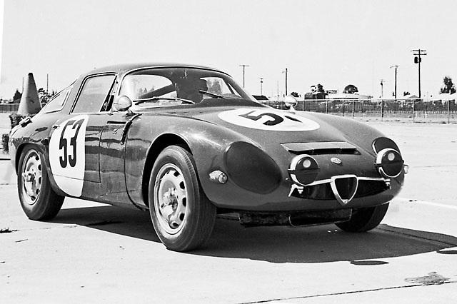 "Alfa Romeo ""Tubolare"" at Sebring 1964"