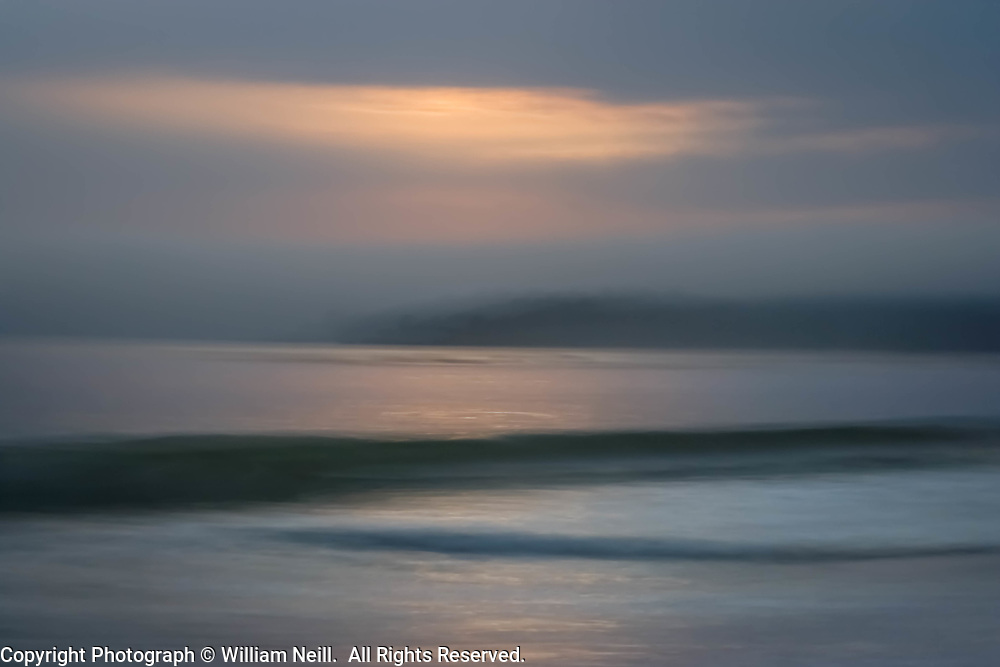 Carmel Bay, sunset, California  2006