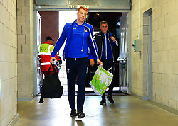 Rory Gaffney of Bristol Rovers arrives at Bloomfield Road - Mandatory by-line: Matt McNulty/JMP - 13/01/2018 - FOOTBALL - Bloomfield Road - Blackpool, England - Blackpool v Bristol Rovers - Sky Bet League One
