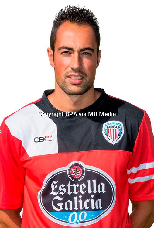 Spain - La Liga Adelante 2014-2015 / <br /> ( C.D. Lugo ) - <br /> Manuel Pavon Castro