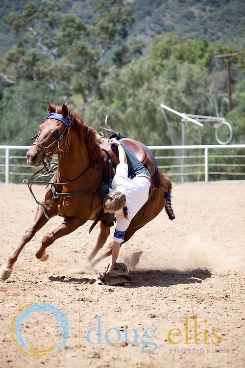 Gymkhana equestrian events Thacher School, 2010
