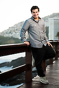 Rio de Janeiro_RJ,  Brasil.<br /> <br /> Retrato de Thiago Martins.<br /> <br /> Portrait of Thiago Martins.<br /> <br /> Foto: RODRIGO CASTRO / NITRO