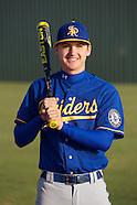 Raiders Varsity  Baseball Portraits 2014
