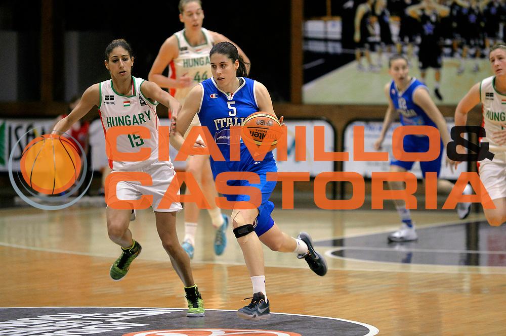 DESCRIZIONE : Roma Amichevole Pre Eurobasket 2015 Nazionale Italiana Femminile Senior Italia Ungheria Italy Hungary<br /> GIOCATORE : Maddalena Gaia Gorini<br /> CATEGORIA : palleggio <br /> SQUADRA : Italia Italy<br /> EVENTO : Amichevole Pre Eurobasket 2015 Nazionale Italiana Femminile Senior<br /> GARA : Italia Ungheria Italy Hungary<br /> DATA : 15/05/2015<br /> SPORT : Pallacanestro<br /> AUTORE : Agenzia Ciamillo-Castoria/Max.Ceretti<br /> Galleria : Nazionale Italiana Femminile Senior<br /> Fotonotizia : Roma Amichevole Pre Eurobasket 2015 Nazionale Italiana Femminile Senior Italia Ungheria Italy Hungary<br /> Predefinita :