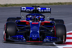 February 19, 2019 - Barcelona, Barcelona, Spain - Alexander Albon from Thailand 23 Scuderia Toro Rosso Honda in action during the Formula 1 2019 Pre-Season Tests at Circuit de Barcelona - Catalunya in Montmelo, Spain on February 19. (Credit Image: © Xavier Bonilla/NurPhoto via ZUMA Press)