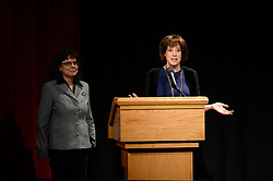 """Julie Cohen and Betsy West of the Oscar® nominated documentary feature """"RBG"""" during the Academy of Motion Picture Arts and Sciences' """"Oscar Week: Documentaries"""" event on Tuesday, February 19, 2019 at the Samuel Goldwyn Theater in Beverly Hills. The Oscars® will be presented on Sunday, February 24, 2019, at the Dolby Theatre® in Hollywood, CA and televised live by the ABC Television Network."""