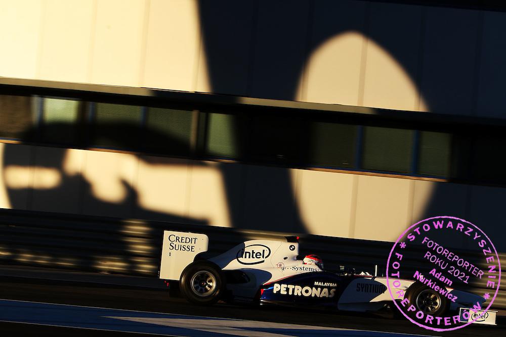 11.12.2008 Jerez, Spain, .Robert Kubica (POL),  BMW Sauber F1 Team - Formula 1 Testing, Jerez .FOT. XPB.CC / WROFOTO.*** poland only !!! ***.*** NO INTERNET / MOBILE USAGE !!! ***