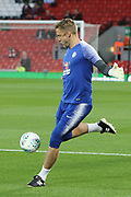31 Robert Green for Chelsea FC during the EFL Cup match between Liverpool and Chelsea at Anfield, Liverpool, England on 26 September 2018.