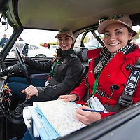 Car 118 Seren Whyte Elise Whyte Triumph TR4 (A&D)