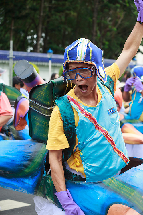 Performer at the Dream Parade in Taipei.