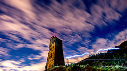 October 9, 2017 - Kirklees, West Yorkshire, United Kingdom -  The Draconid Meteor Shower at Castle Hill, Kirklees, West Yorkshire in England. The Draconid meteor shower, also sometimes known as the Giacobinids, is one of the 2 meteor showers to annually grace the skies in October.  (Credit Image: © Charlotte Graham/i-Images via ZUMA Press)