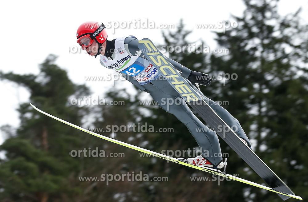 04.01.2014, Bergisel Schanze, Innsbruck, AUT, FIS Ski Sprung Weltcup, 62. Vierschanzentournee, Probesprung, im Bild Sebastian Colloredo (RUS) // Sebastian Colloredo of Russia during Trial Jump of 62nd Four Hills Tournament of FIS Ski Jumping World Cup at the Bergisel Schanze, Innsbruck, Austria on 2014/01/04. EXPA Pictures © 2014, PhotoCredit: EXPA/ Peter Rinderer