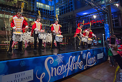 United States, Washington, Bellevue, Snowflake Lane annual holiday celebration