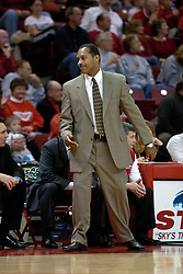 04 December 2004<br /> <br /> St. John's Norm Roberts<br /> <br /> Illinois State Redbirds V St. Johns Red Storm Men's Basketball.  Redbird Arena, Illinois State University, Normal IL