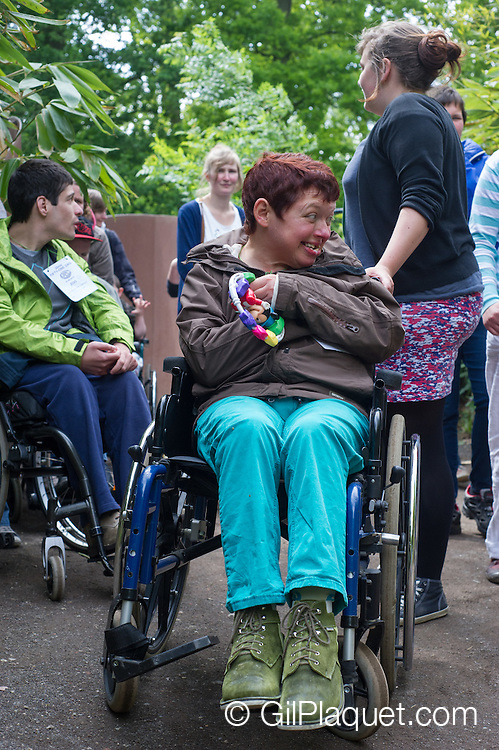 Mechelen. 30e Fifty-One dag voor personen met een handicap in Planckendael.