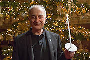 Sir Tony Robinson, supporter. Carols by candlelight. An evening of celebration and song for the Alzheimers's Society. St Pauls Church, Knightbridge, London.