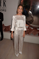 Daisy Knatchbull at the Tatler's English Roses 2017 party in association with Michael Kors held at the Saatchi Gallery, London England. 29 June 2017.<br /> Photo by Dominic O'Neill/SilverHub 0203 174 1069 sales@silverhubmedia.com