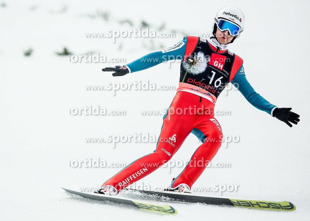 Simon Ammann of Switzerland during the Ski Flying Hill Individual Competition on Day Two of FIS Ski Jumping World Cup Final 2017, on March 24, 2017 in Planica, Slovenia. Photo by Vid Ponikvar / Sportida