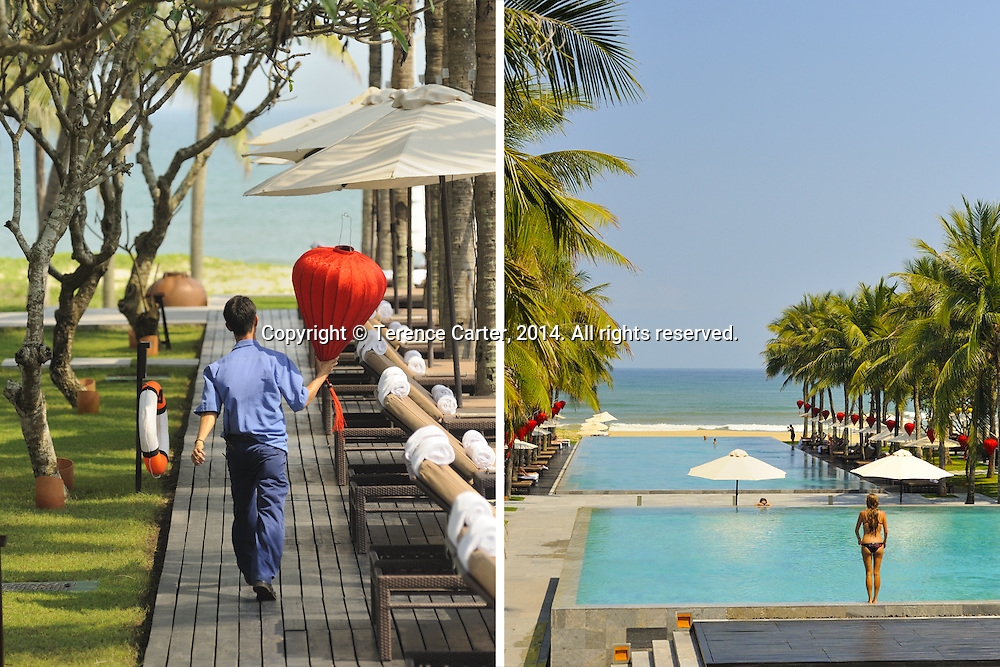 Nam Hai Beach Resort, Hoi An, Vietnam. Copyright 2014 Terence Carter / Grantourismo. All Rights Reserved.