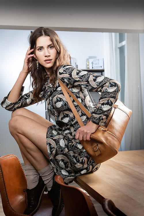 20170123 ANTWERPEN Belgium Lize Feryn actrice model mediafiguur pict FRANK ABBELOOS