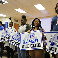 The Aberdeen School Board recognized 16 new students inducted into the ACT Club during its April meeting.
