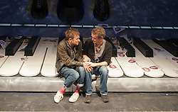 Damon Albarn and Rufus Norris help launch Undress For The Opera, an initiative by the ENO to attract young people to enjoy opera at The Coliseum. Wednesday October 3, 2012. Photo By i-Images