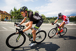 Turek Daniel of Cycling Academy team and Per David of Adria Mobil  during cycling race 48th Grand Prix of Kranj 2016 / Memorial of Filip Majcen, on July 31, 2016 in Kranj centre, Slovenia.  Photo by Ziga Zupan / Sportida