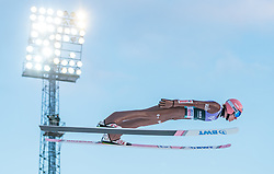 13.03.2018, Lysgards Schanze, Lillehammer, NOR, FIS Weltcup Ski Sprung, Raw Air, Lillehammer, im Bild Dawid Kubacki (POL) // Dawid Kubacki of Poland during the 2nd Stage of the Raw Air Series of FIS Ski Jumping World Cup at the Lysgards Schanze in Lillehammer, Norway on 2018/03/13. EXPA Pictures © 2018, PhotoCredit: EXPA/ JFK