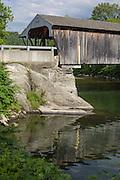 Village Bridge (Big Eddy Bridge, Great Eddy Bridge) on Mad River 1833