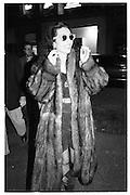 Mosbackerparty 1988© Copyright Photograph by Dafydd Jones 66 Stockwell Park Rd. London SW9 0DA Tel 020 7733 0108 www.dafjones.com