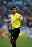 Fifa Brazil 2013 Confederation Cup / Group A Match /<br /> Mexico vs Italy 1-2   ( Jornalista Mario Filho - Maracana Stadium - Rio de Janeiro , Brazil )<br /> Enrique Osses - Referee  , During the match between Mexico and Italy