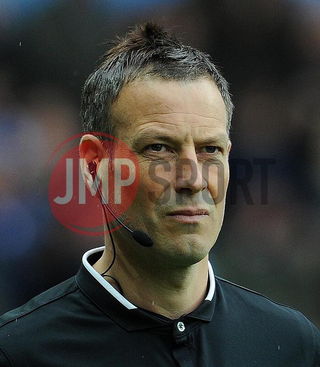 Match Referee Mark Clattenburg- Photo mandatory by-line: Harry Trump/JMP - Mobile: 07966 386802 - 29/04/15 - SPORT - FOOTBALL - Birmingham - Villa Park - Aston Villa v Everton - Barclays Premier League