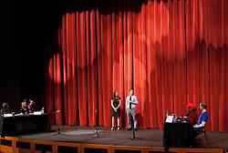 Hebrew Idol hled in the Karen Hille Phillips Center at PLU on Thursday, April 16, 2015. (Photo: John Froschauer/PLU)