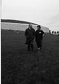 1987 - An Taoiseach Visits Newgrange.