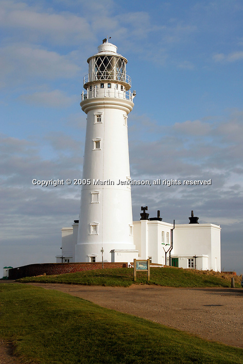 Flamborough Head Lighthouse, near Bridlington.