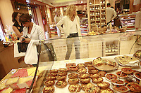Lyon, France..in the Pignol prepared food shop on Place Bellecour..Lyon's 2nd arrondissement.